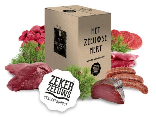 Hertenvlees pakket