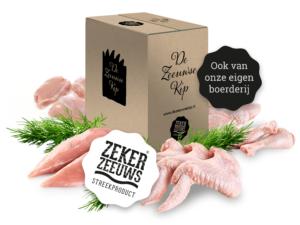 Kippenvlees pakket