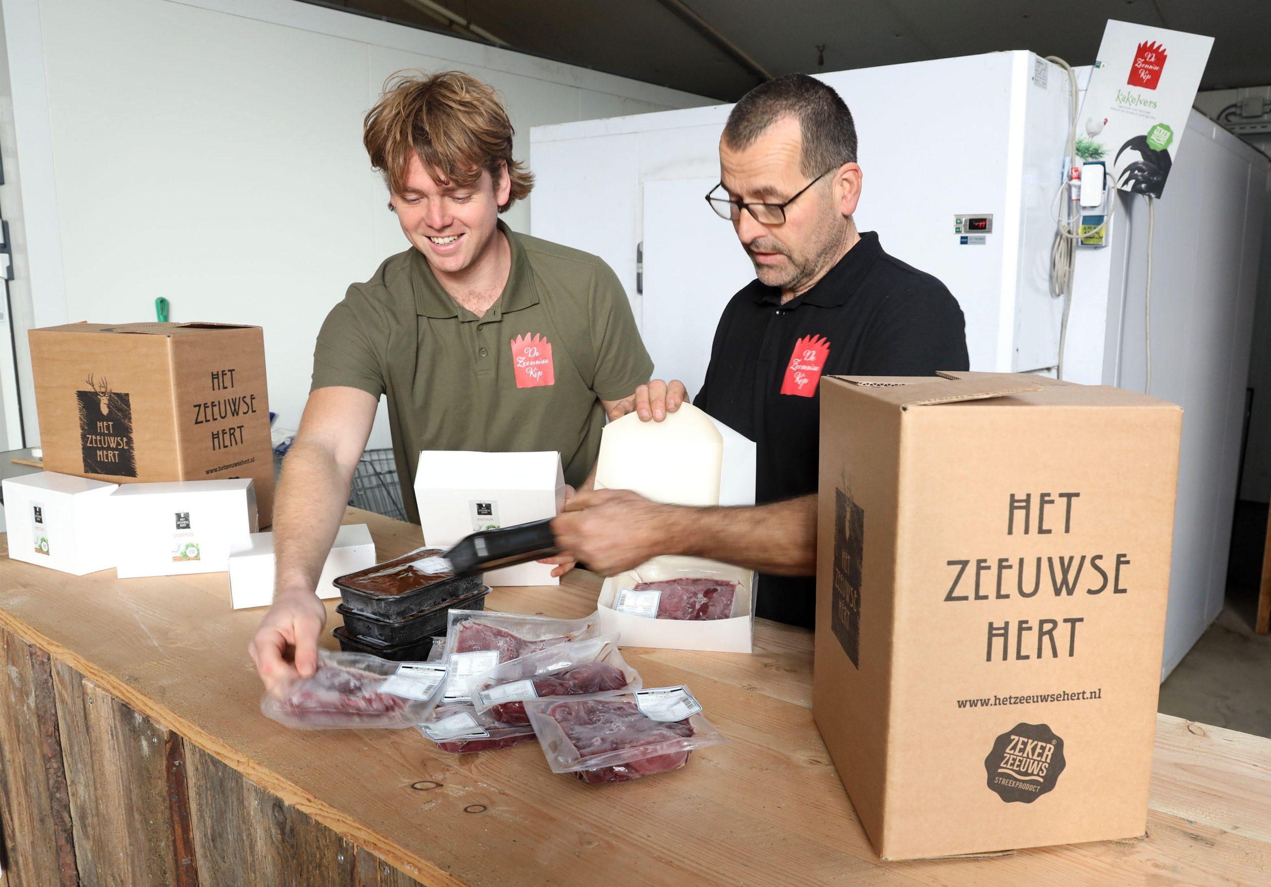 Het Zeeuwse Hert verzendt nu door heel Nederland!